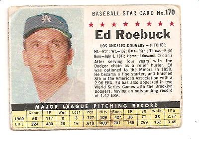 1961 Post #170 Ed Roebuck BOX only