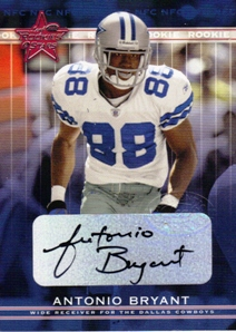 2002 Leaf Rookies and Stars Rookie Autographs #284 Antonio Bryant