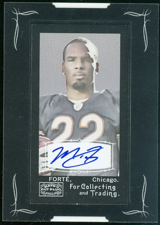 2008 Topps Mayo Autographs #AMF Matt Forte H
