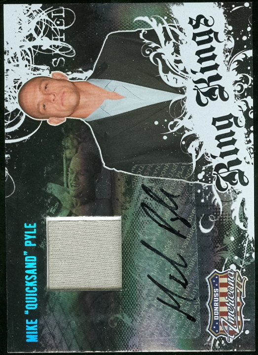 2008 Americana II Ring Kings Signature Material #MP Mike Pyle/500