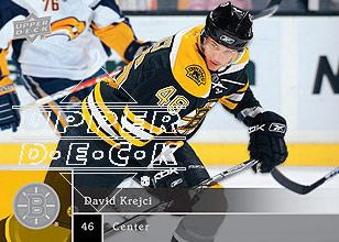 2009-10 Upper Deck #2 David Krejci