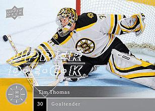 2009-10 Upper Deck #5 Tim Thomas