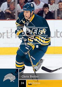 2009-10 Upper Deck #14 Chris Butler