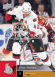 2009-10 Upper Deck #25 Chris Phillips