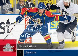 2009-10 Upper Deck #73 Keith Ballard