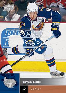 2009-10 Upper Deck #75 Bryan Little