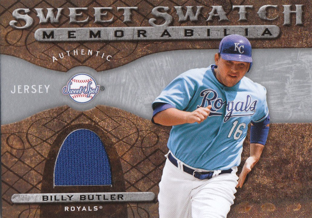 2009 Sweet Spot Swatches #BB Billy Butler