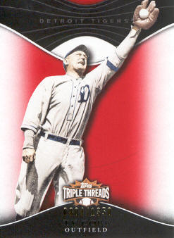 2009 Topps Triple Threads #58 Ty Cobb