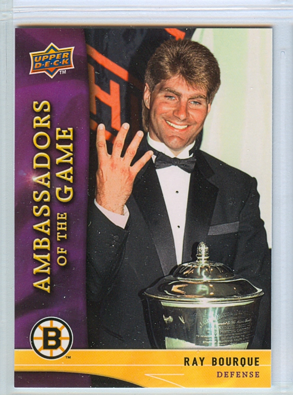 2009-10 Upper Deck Ambassadors of the Game #AG25 Ray Bourque SP