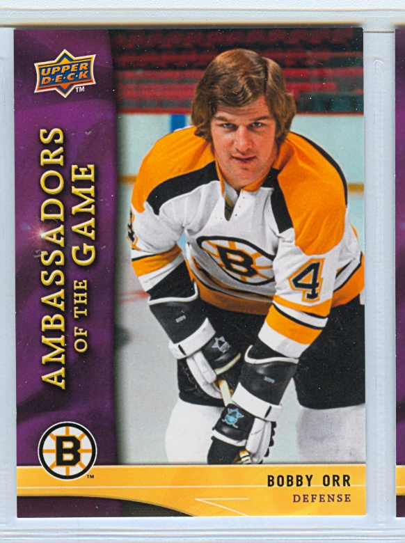 2009-10 Upper Deck Ambassadors of the Game #AG29 Bobby Orr SP