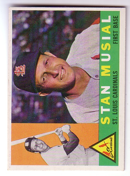 1960 Topps #250 Stan Musial front image