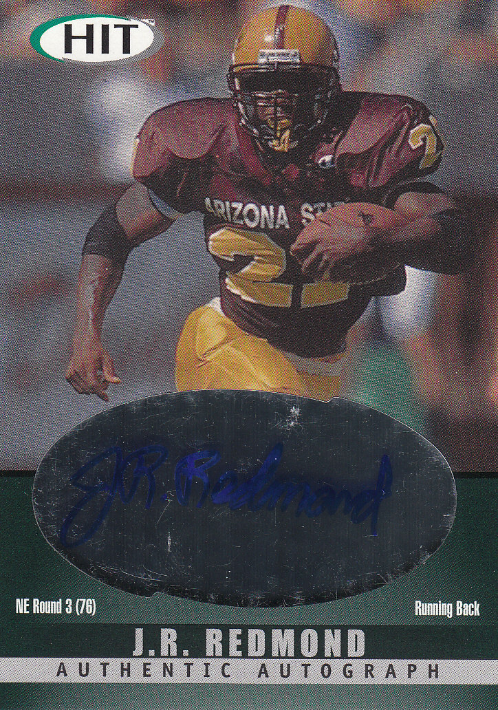 2000 SAGE HIT Autographs Emerald #21 J.R. Redmond