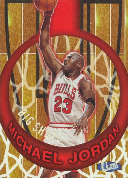 1997-98 Ultra Big Shots #1 Michael Jordan