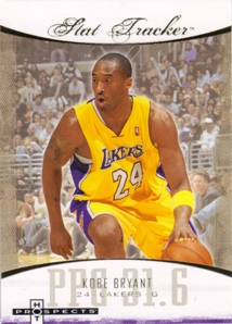 2007-08 Fleer Hot Prospects Stat Tracker #21 Kobe Bryant