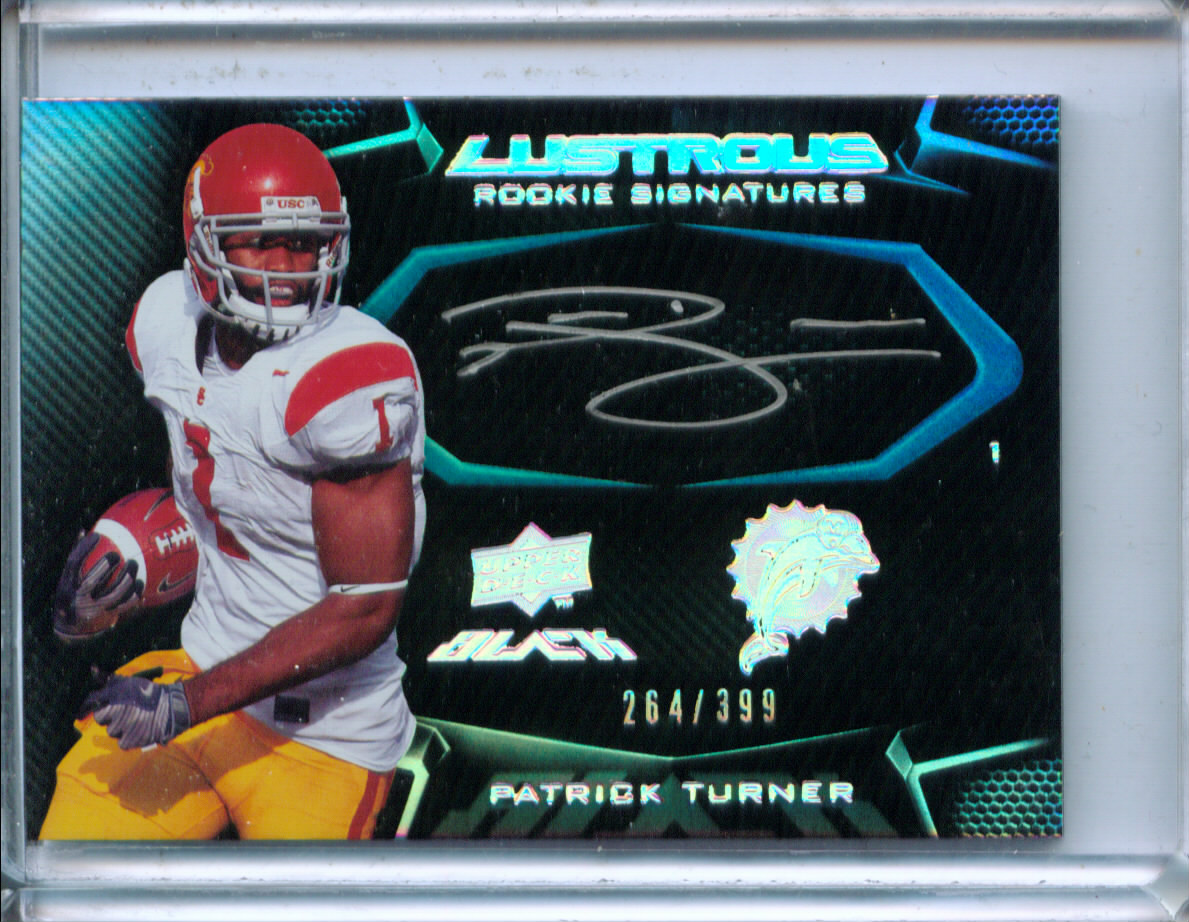 2009 UD Black #113 Patrick Turner AU/399 RC