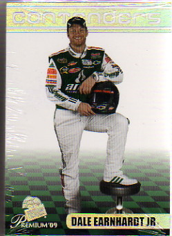 2009 Press Pass Premium Racing Base Hobby Set of 80 Cards