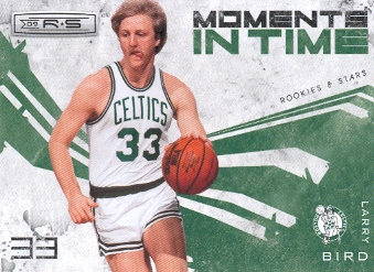 2009-10 Rookies and Stars Moments in Time #11 Larry Bird