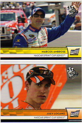 2009 Press Pass Series 2 Nascar Hobby Racing Set of 100 Cards - Marco Ambrose RC