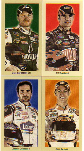 2009 Press Pass Pocket Portraits Nascar Hobby Racing Set of 30 Mini Cards