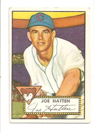 1952 Topps #194 Joe Hatton