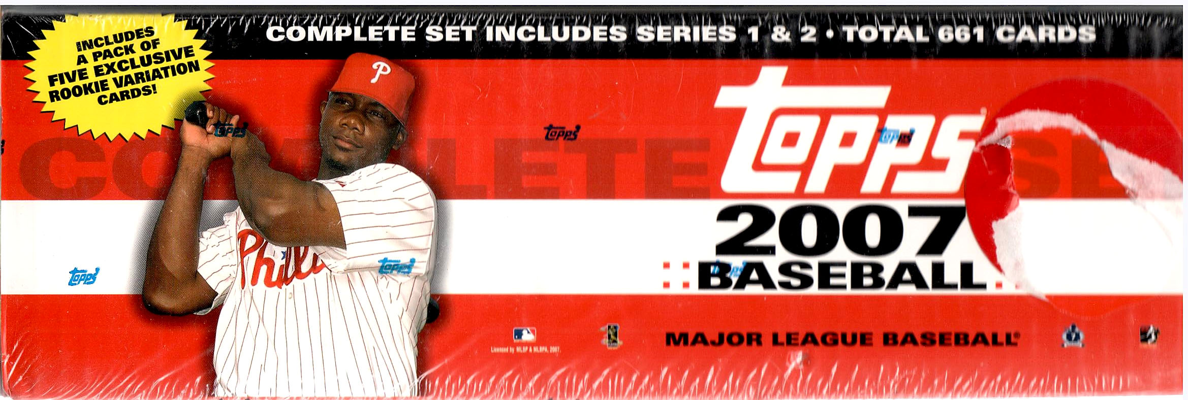 2007 TOPPS BASEBALL FACTORY SEALED SET