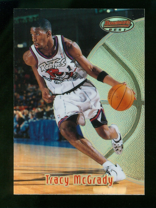 1997-98 Bowman's Best Refractors #111 Tracy McGrady