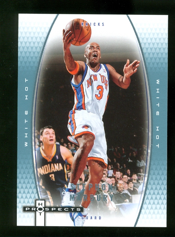 2006-07 Fleer Hot Prospects White Hot #39 Stephon Marbury