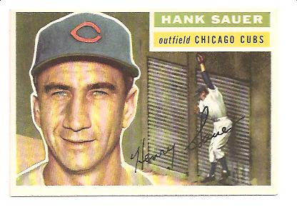 1956 Topps #41 Hank Sauer