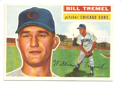 1956 Topps #96 Bill Tremel