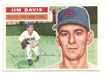 1956 Topps #102 Jim Davis