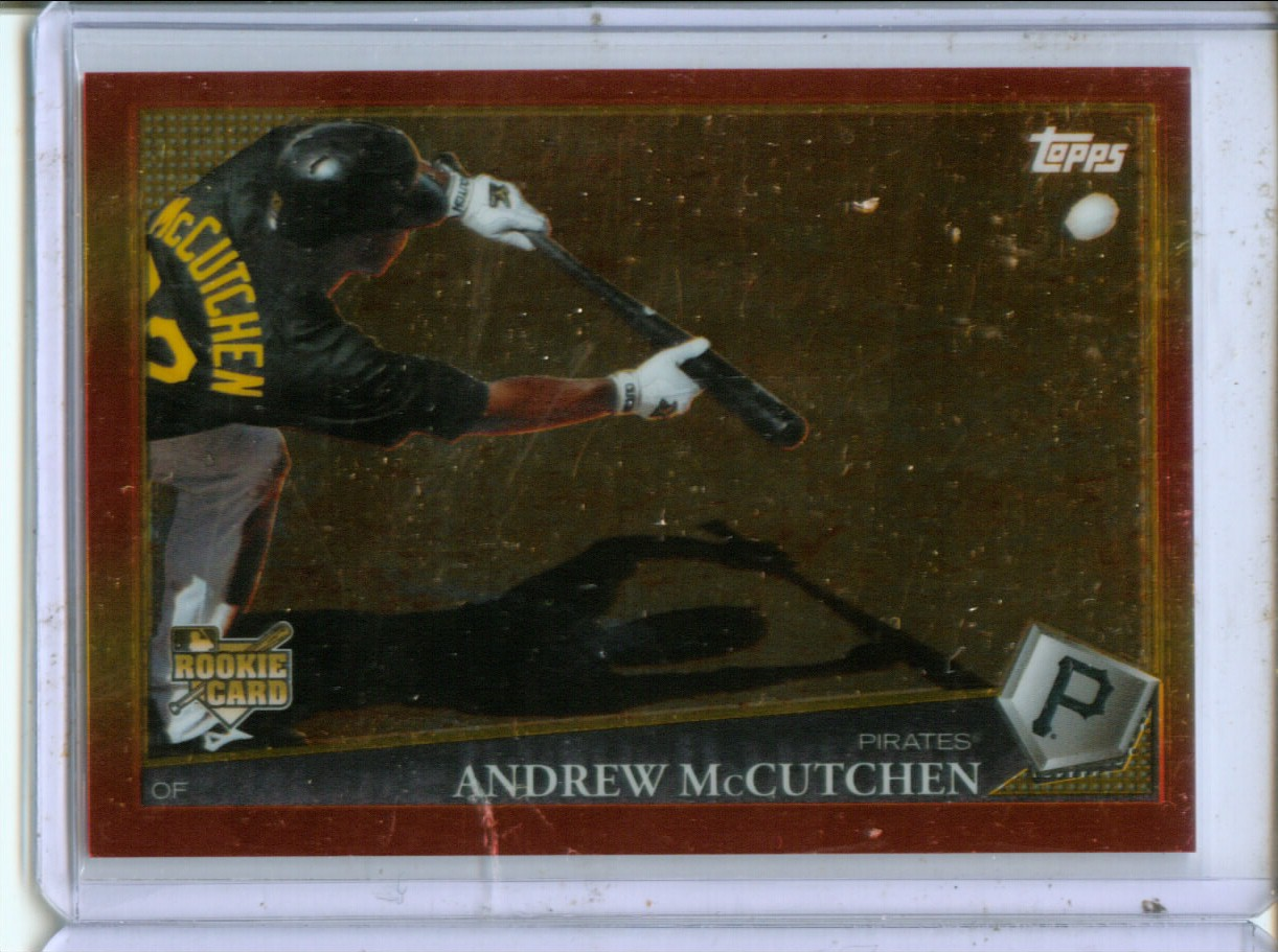 2009 Topps Red Hot Rookie Redemption #RHR3 Andrew McCutchen