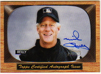 2004 Bowman Heritage Signs of Authority #MR Mike Reilly