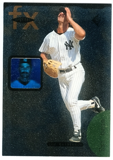 1995 SP Special FX #15 Don Mattingly