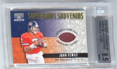 2000 Playoff Momentum Super Bowl Souvenirs #SB15 John Elway