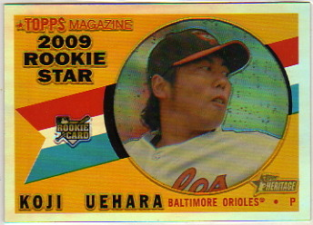 2009 Topps Heritage Chrome Refractors #CHR107 Koji Uehara
