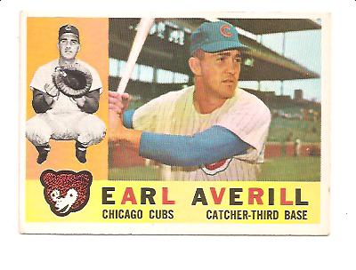 1960 Topps #39 Earl Averill Jr.