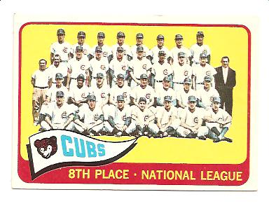 1965 Topps #91 Chicago Cubs TC