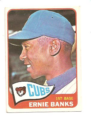 1965 Topps #510 Ernie Banks