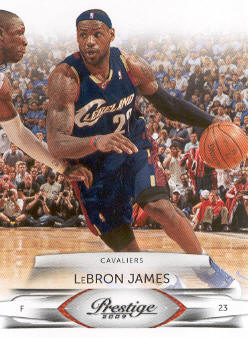 2009-10 Prestige #16 LeBron James