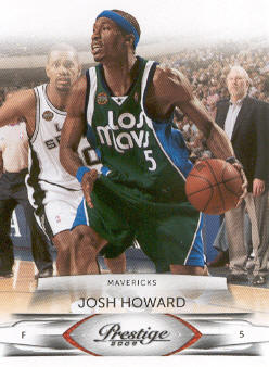 2009-10 Prestige #23 Josh Howard