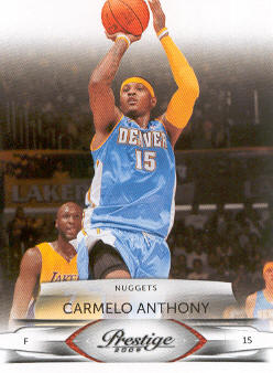 2009-10 Prestige #25 Carmelo Anthony