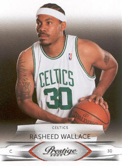 2009-10 Prestige #31 Rasheed Wallace