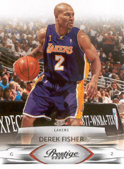 2009-10 Prestige #49 Derek Fisher