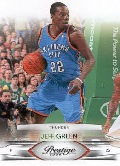 2009-10 Prestige #74 Jeff Green