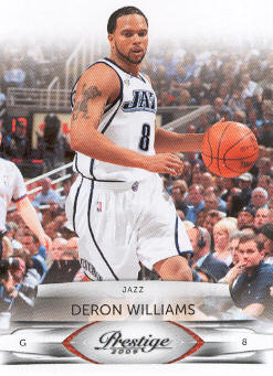 2009-10 Prestige #102 Deron Williams