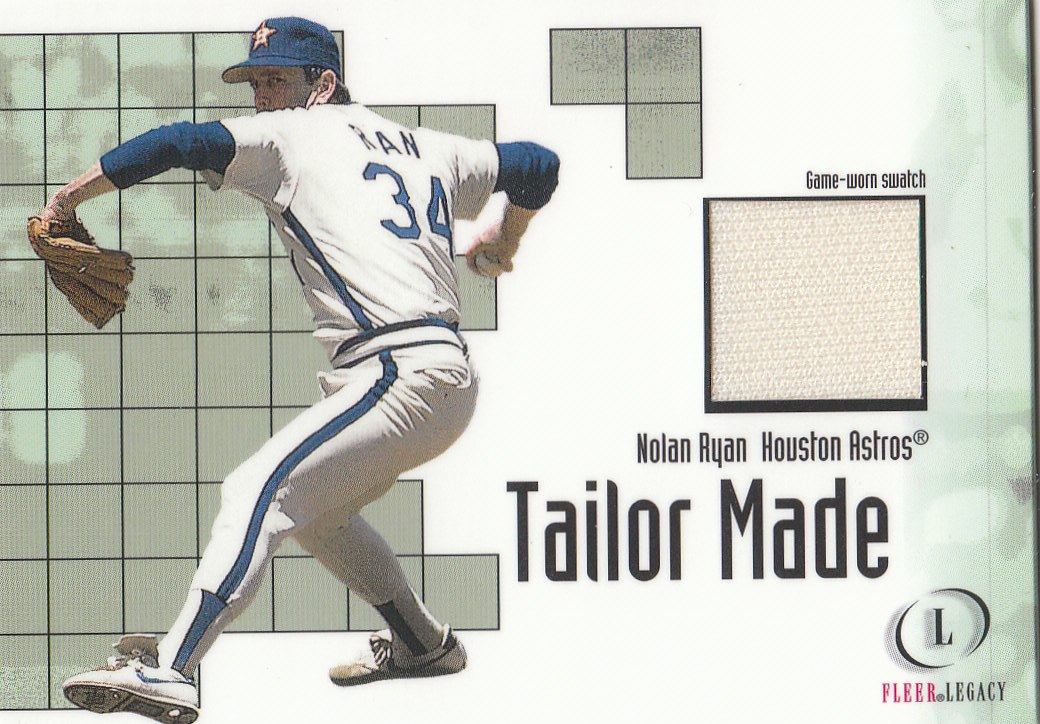 2001 Fleer Legacy Tailor Made #21 Nolan Ryan