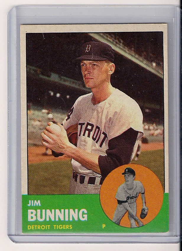 1963 Topps #365 Jim Bunning
