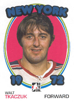 2009-10 ITG 1972 The Year In Hockey #33 Walt Tkaczuk