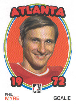 2009-10 ITG 1972 The Year In Hockey #66 Phil Myre