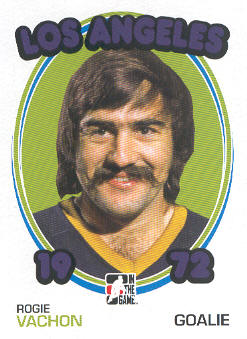 2009-10 ITG 1972 The Year In Hockey #80 Rogie Vachon